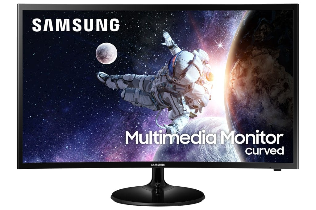 """Samsung 32"""" Curved 1920x1080 HDMI 60hz 4ms FHD LCD Monitor - LC32F39MFUNXZA (Speakers Included)"""