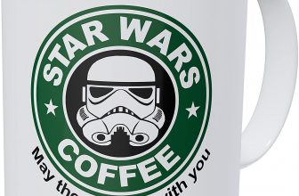 Wampumtuk Starwars May The Froth Be With You 11 Ounces Funny Coffee Mug