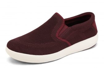 Bruno Marc Mens Slip On Loafers Shoes Casual Mesh Walking Running Sneakers Shoes ANKIR BURGUNDY size 10.5
